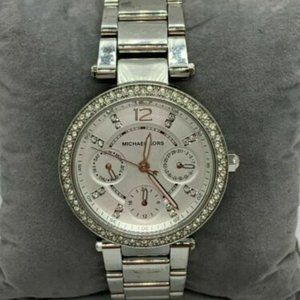 Michael Kors Women's Silver Dial Wrist Watch D435